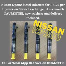 NISSAN Np200 Injectors for sale