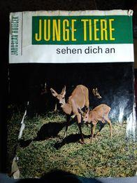 Книга-фотоальбом о животных, Ярослав Голечек, на немецком языке