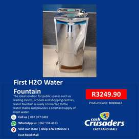 First H2O Water Fountain