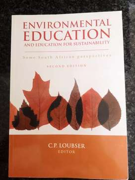 Environmental education and education for sustainability.