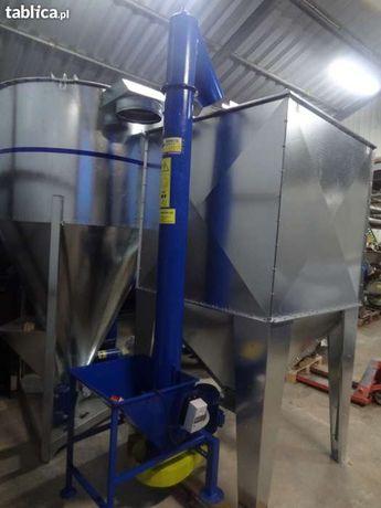 Zbiornik silos pojemnik do paszy zboża pelletu 2000 litrów ocynk Dakowy Suche - image 3