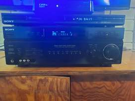 Sony Amp and DVD player