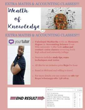 Get A's in Maths & Accounting !!!
