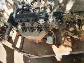Opel Corsa Lite 1.4 Complete Engin with the Gear box.