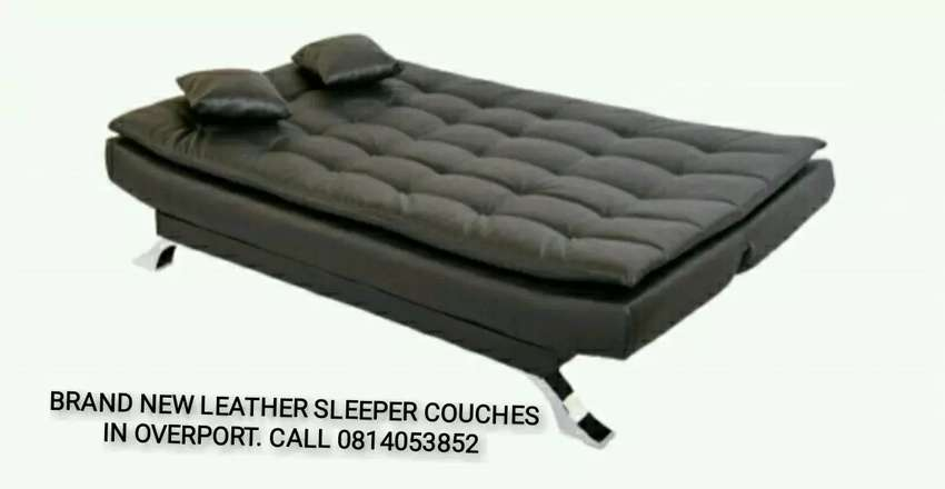 Brand new leather sleeper couches sofa beds 0