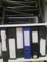 Папка для бумаг, папка регистратор, папки-короны