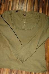 zielona bluzka Zara