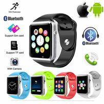 Умные часы Smart watch A-1 Часы-телефон +камера +SD +SIM и подарок!