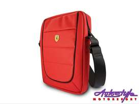 Ferrari Scuderia 10 INCH Tablet Bag red  -HIGH QUALITY DESIGN  ADJUSTA