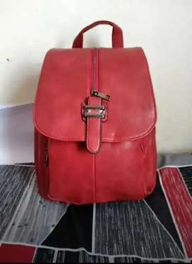 Ruby red back pack