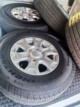 Ford Ranger Tyres and Rims