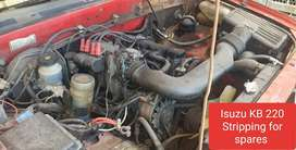 Isuzu KB 220 engine Stripping for spares
