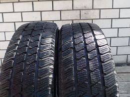 195*65*16С шины липучки,зимние,2 шт.Почти новые.