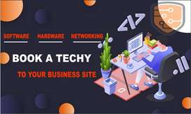 Book a Techy To Your Business Site