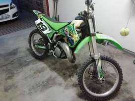 KX 125 beautiful 2stroke