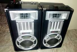 10inch disco set with amp and lights