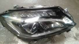 Mercedes Benz w205 headlights