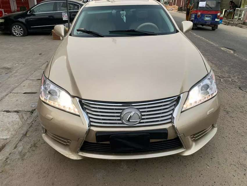 3months used Lexus es350 08 upgraded to 013 up for sale 0
