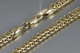 Złoty łańcuszek 100g Włoski 585 łańcuch jedyny w Polsce - Rękodzieło!