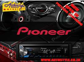 Pioneer AVH-195DVD 6.2 inch Double Din DVD Receiver  In-Dash Double DI