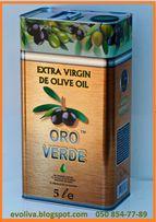«Оro Verde». Оливковое масло из Испании. 5л. Опт.