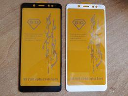 Защитное стекло 6D для Xiaomi Redmi Note 5 6 PRO / Mi A2 / A2 lite