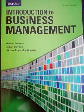 Introduction to Business Management Textbook