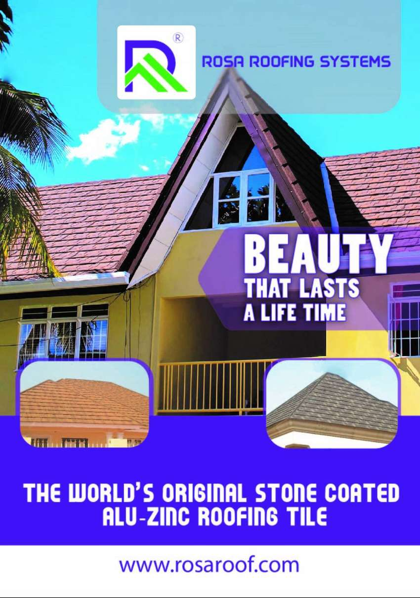 ROSA ROOFING SYSTEMS - A STONE COATED METAL ROOFING TILES/SHINGLES 0