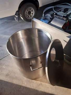 200L POT STAINLESS STEEL 304