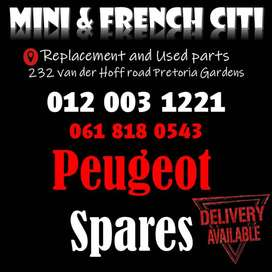 Used Peugeot spares