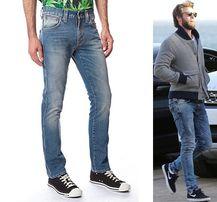 NUDIE Hemsworth slim rurki 30/32 W30 L32 pas82cm L30 diesel lee jeansy