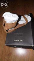 sandały GEOX- zamszowe- nowe
