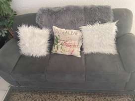 Charcoal Grey 3 Piece Lounge Suite