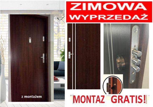 Drzwi zewnętrzne wejściowe do mieszkań w bloku z MONTAŻEM, Kraków - image 4