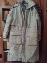 Теплый мужской пуховик пальто .