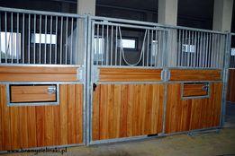 Boksy dla koni przesuwne