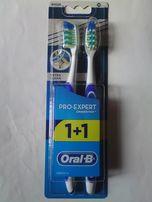 Зубная щётка Oral - B Pro-expert экстрачистка, набор из 2 щёток, новый