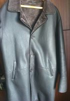 Кожаная куртка зимняя мужская дубленка. 100% натуральная. см.фото.