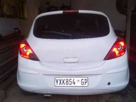 Opel Corsa D type three door with sunroof electric windows MP3 player