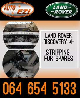 Land Rover Range Rover Discovery 4 Stripping For Spares.