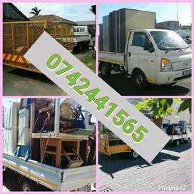 Moving trucks and bakkies for hire