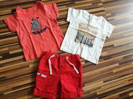 Koszulki + spodenki dla chlopca