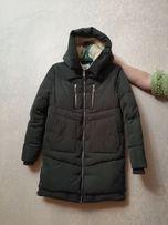 Продам теплую зимнюю женскую куртку
