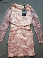 Piękna nowa sukienka missguided koronka r.34