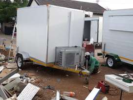 Mobile kitchen and mobile fridge moblie
