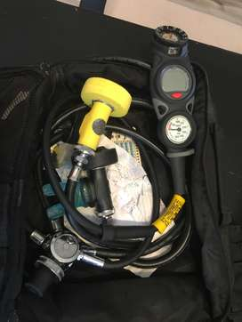 Full dive kit excluding cylinder