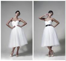 Suknia ślubna Zień 36 S oryginalna krótka od Zienia piękna