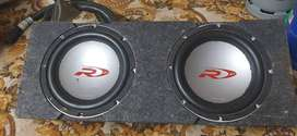 2 x 12 inch Alpine Type R Competition Subwoofers For Sale