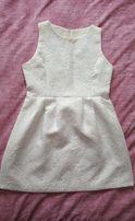 Sukienka wytłaczany wzór M