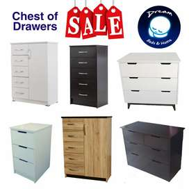 Chest of Drawers On Sale till end July